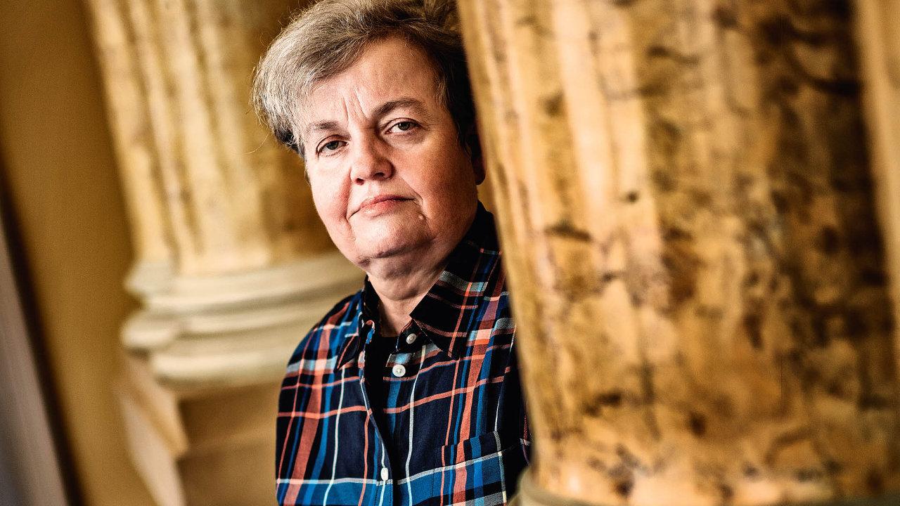 Předsedkyně Státního úřadu pro jadernou bezpečnost, fyzička a politička Dana Drábová