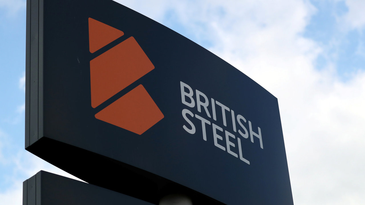 Logo British Steel