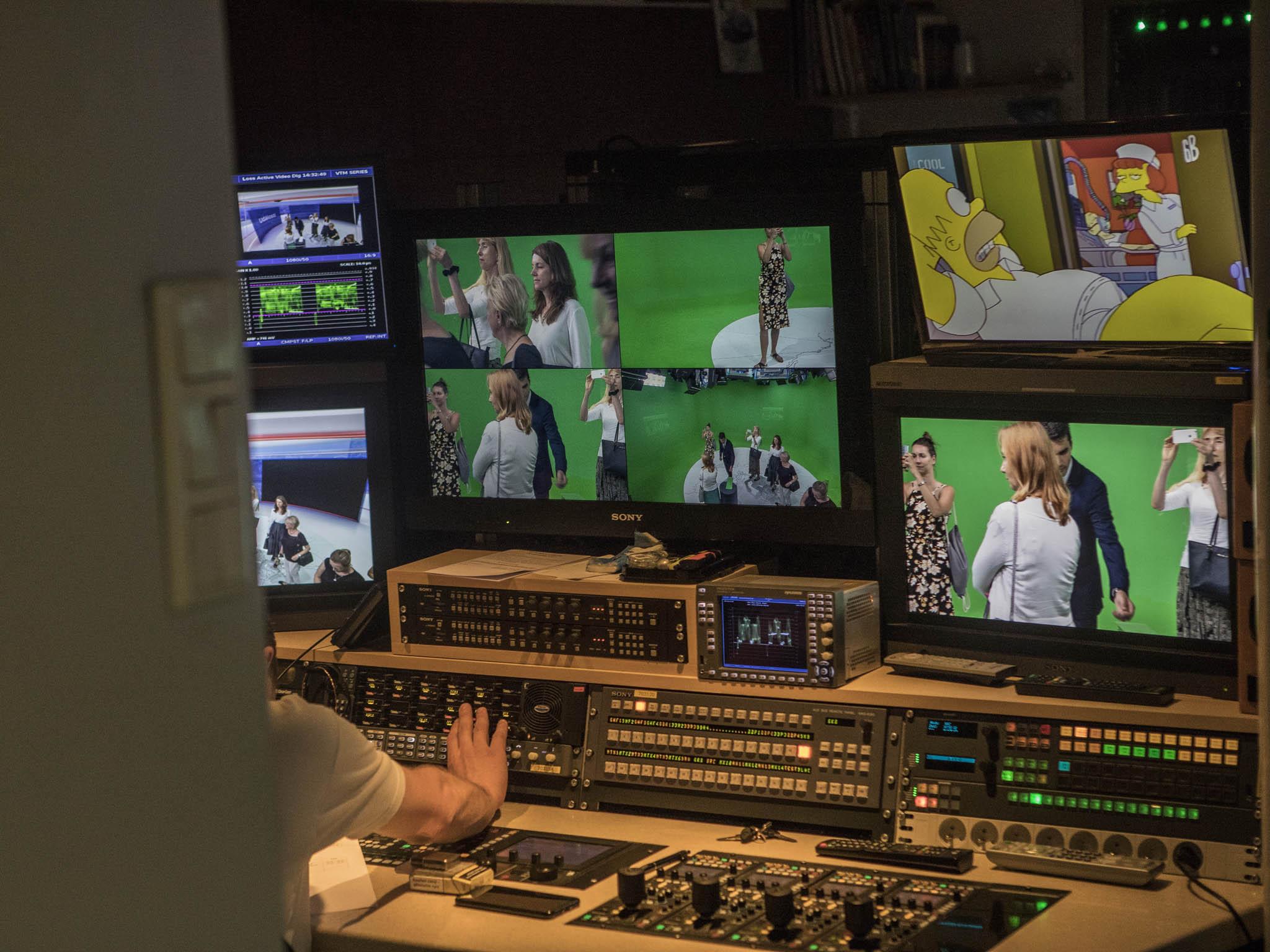 Návštěva vČT. Top ženy Česka si prohlédly televizní studia atechnické zákulisí.