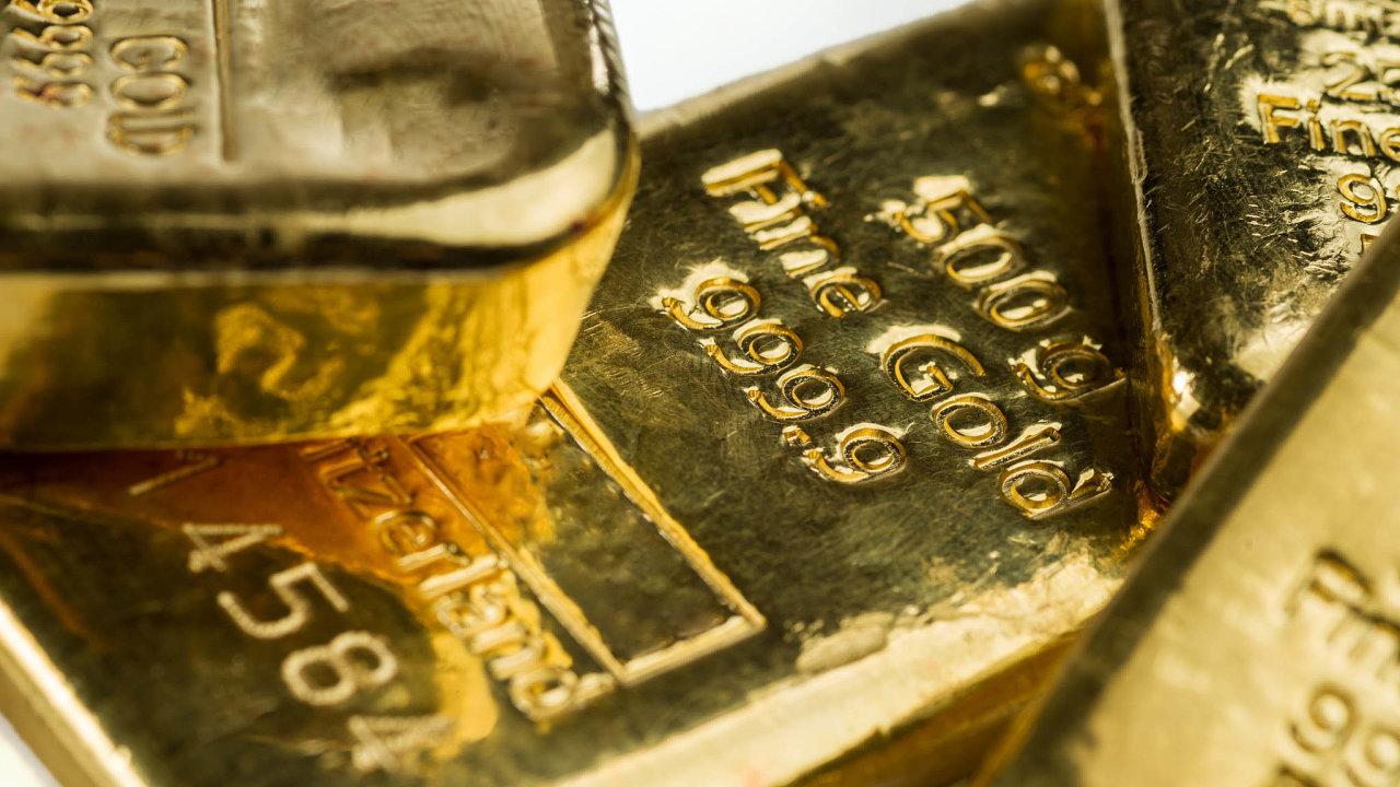 Cena zlata od začátku letošního roku stoupá.