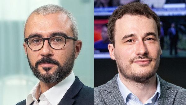 Komentátor David Klimeš a investigativní reportér Lukáš Valášek, Aktuálně.cz