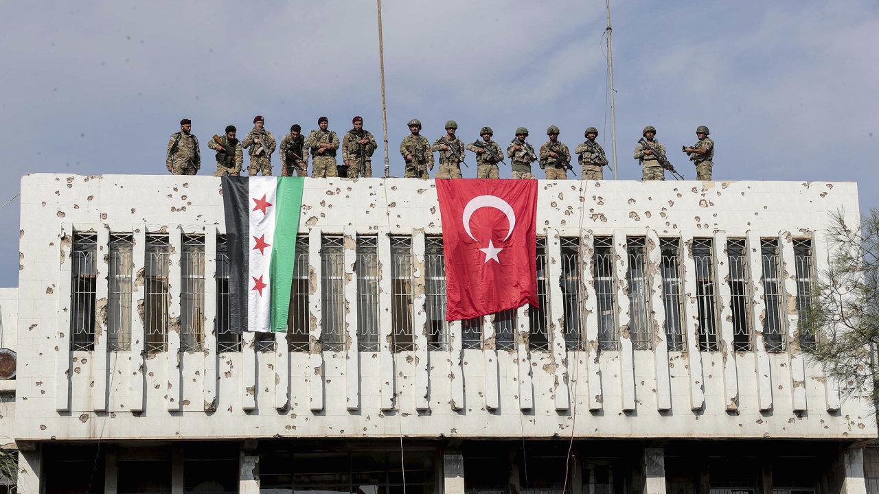 turečtí vojáci, turecko, sýrie