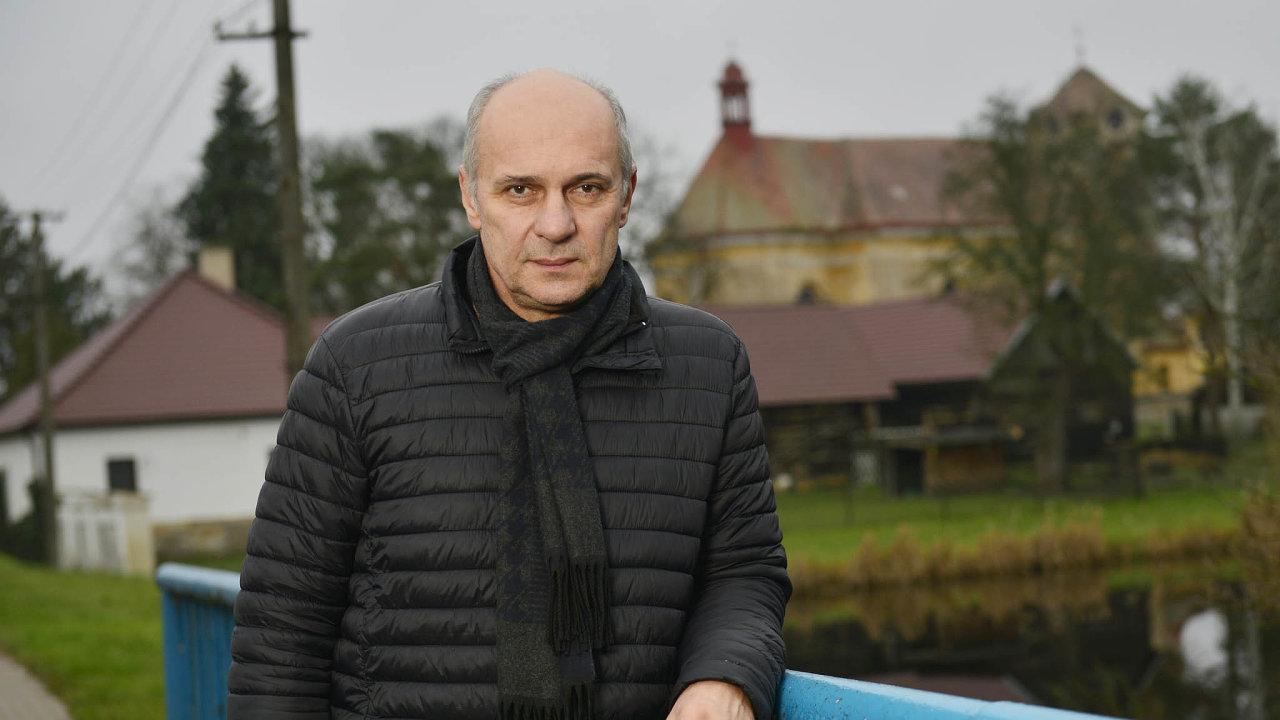 Starosta Kněžic Milan Kazda