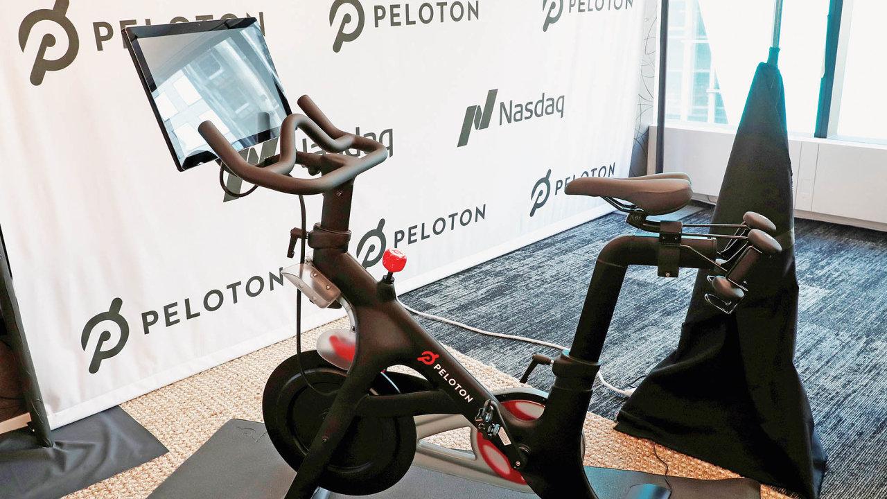 Pelotonzískal miliardovou hodnotu díky jednoduchému nápadu: Běžný rotoped vybavil obrazovkou; ta cvičenci zajišťuje kontakt s instruktorem.