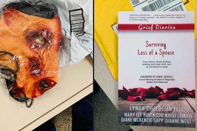 Maska ve tvaru zakrvácené prasečí hlavy, pohřební věnec nebo krabice se šváby - to byly zásilky, které čekaly na manželský pár, který stojí za kritickými texty o eBayi.