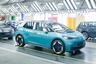 Volkswagen ID.3 se vyrábí v závodě ve Cvikově už od loňského listopadu.