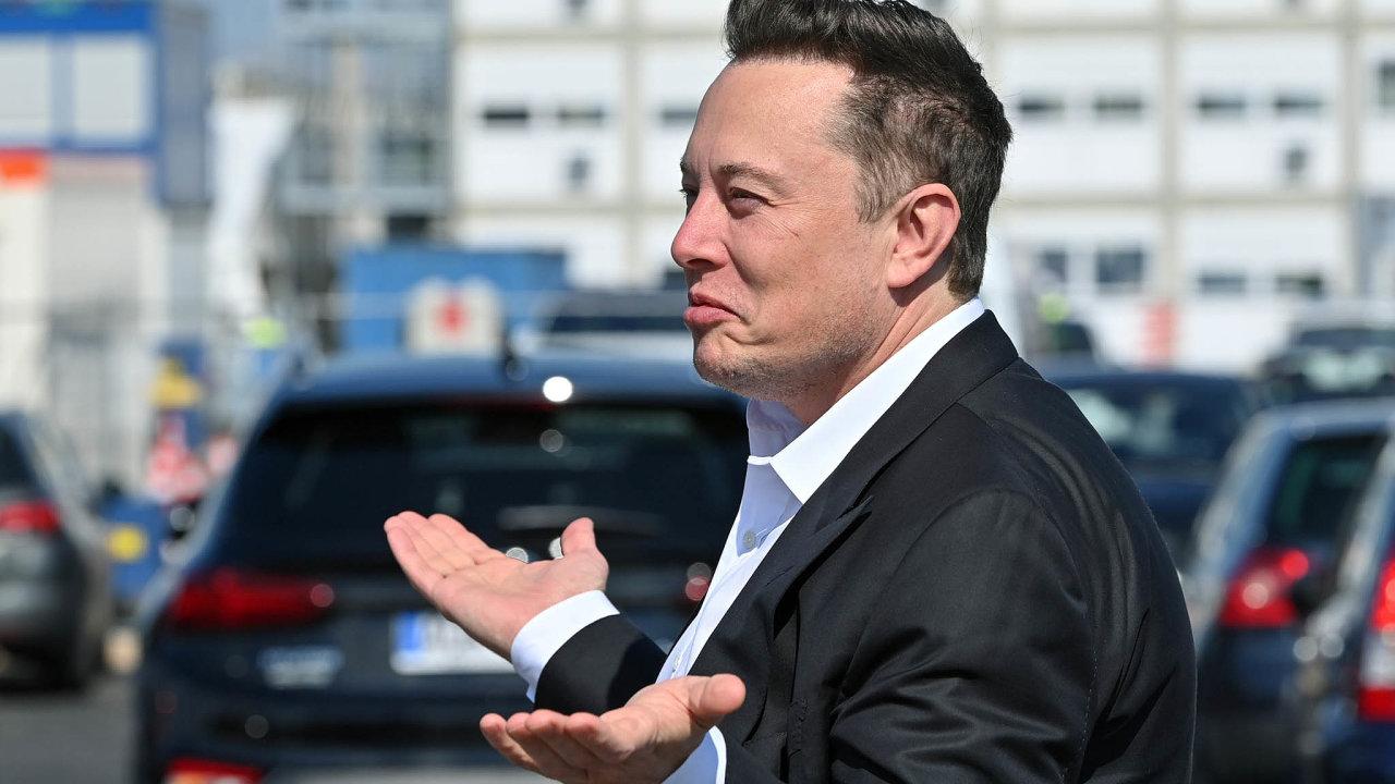 Jmění Elona Muska se během pandemie ztrojnásobilo. Vsrpnu se jeho hodnota dostala na 115 miliard dolarů.