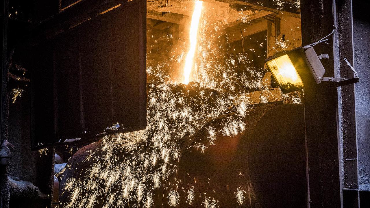 Liberty Ostrava, stejně jako další ocelářské podniky vEvropě, už dva roky čelí propadu produkce.