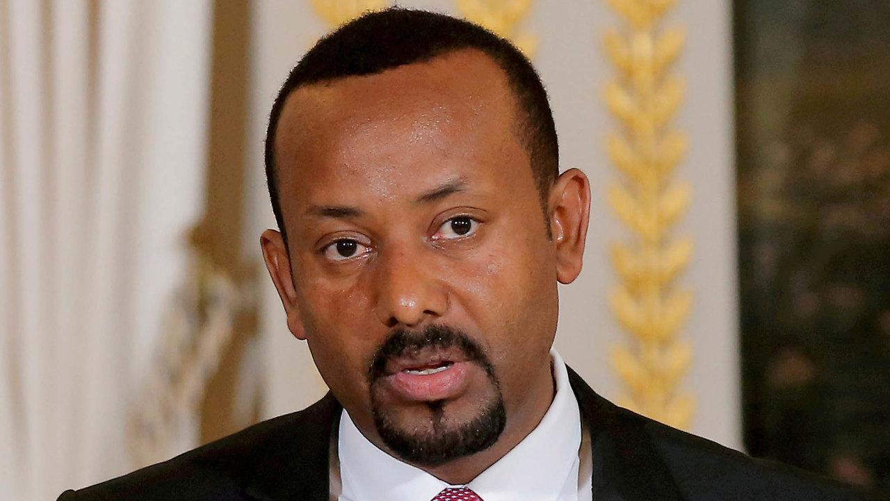 Dvě tváře. Etiopský premiér Abiy Ahmed si získal pověst mírotvorce, letos ale vytáhl do války.