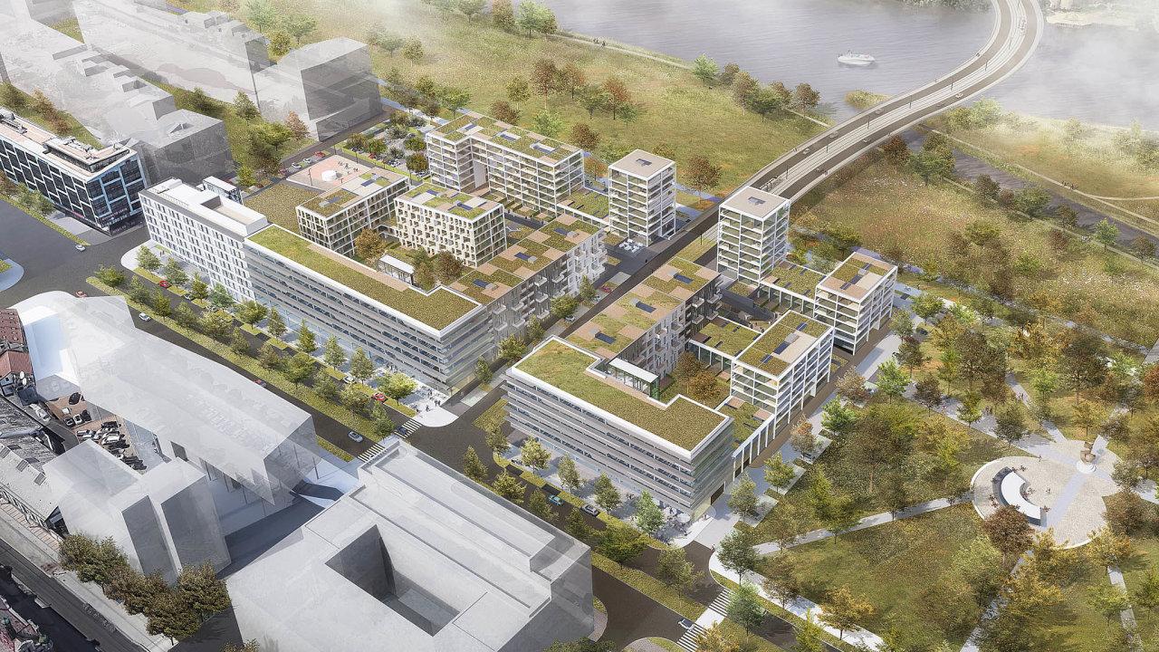 Developerská společnost Sekyra Group chce poloňském zahájení stavby nové čtvrti napražském Smíchově letos odstartovat budování projektu Rohan City naRohanském ostrově uVltavy.