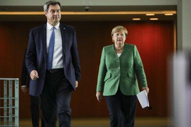 Kdo bude nástupcem Merkelové? Dosud zdrženlivý Söder se poprvé přihlásil ke kancléřským ambicím