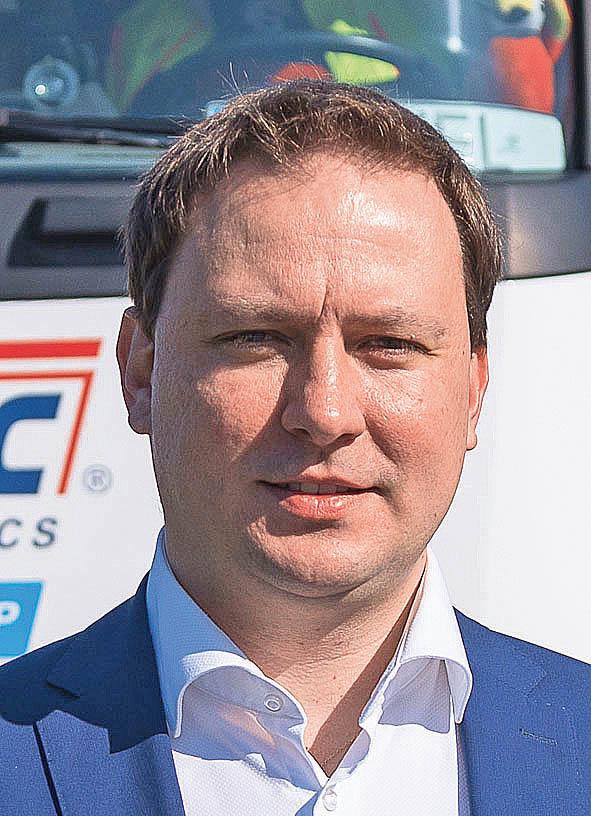 Jan Bláha, ředitel divize forwardingu, PST CLC