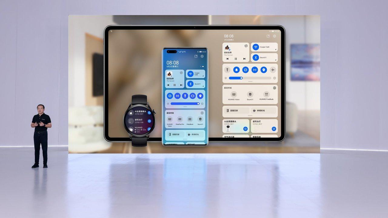 Huawei představil nový operační systém HarmonyOS 2.0 a hned několik zařízení v čele s chytrými hodinkami.