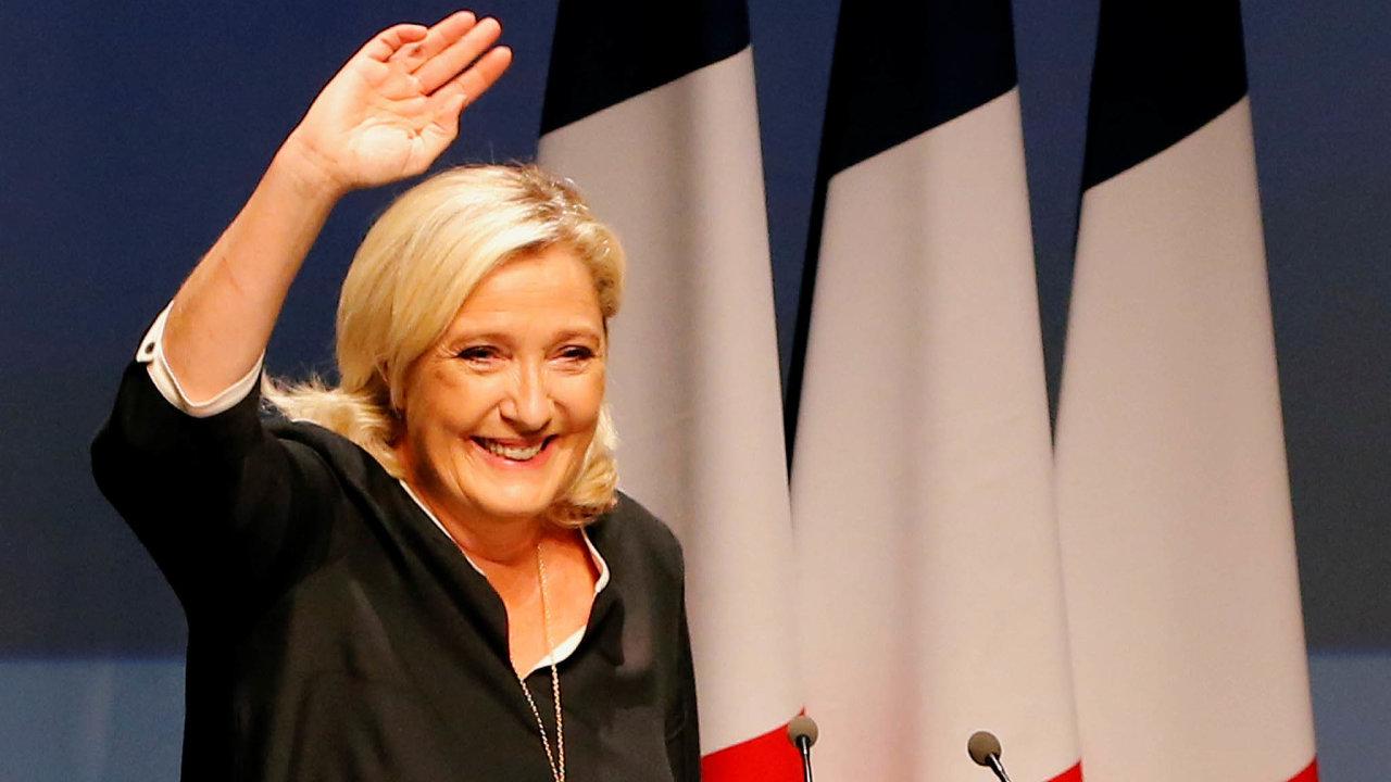 Marine Le Penová to s bojem o Elysejský palác myslí na rozdíl od svého otce vážně.