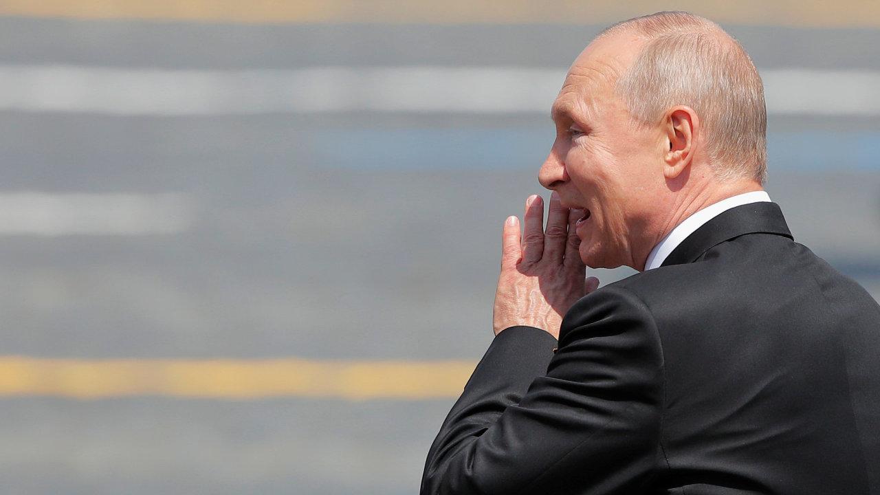 Vojenská přehlídka v Moskvě, Putin