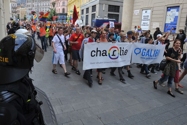 Pochod homosexualu