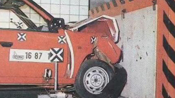 Crashtest. Ilustrační foto