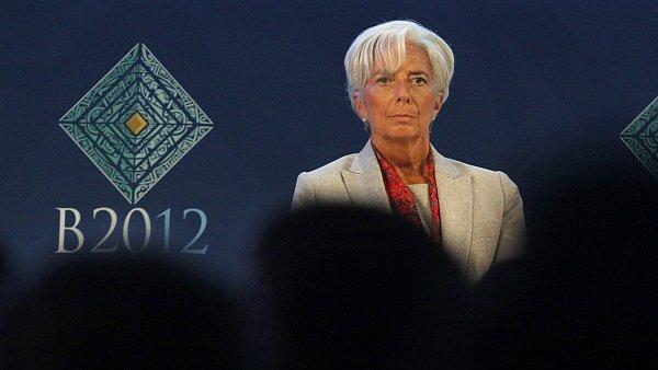 Šéfka MMF Christine Lagardeová.