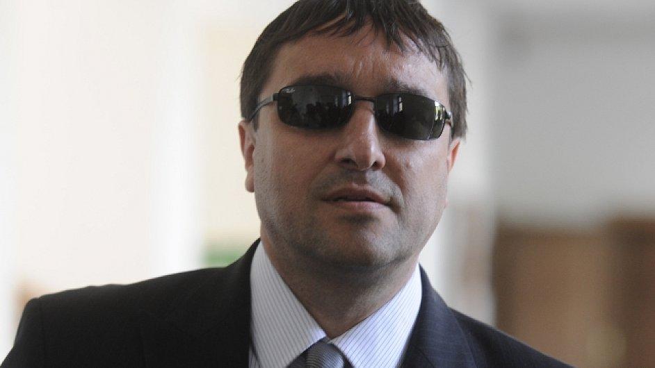 Aleš Trpišovský  v květnu na jednání Krajského soudu v Praze.