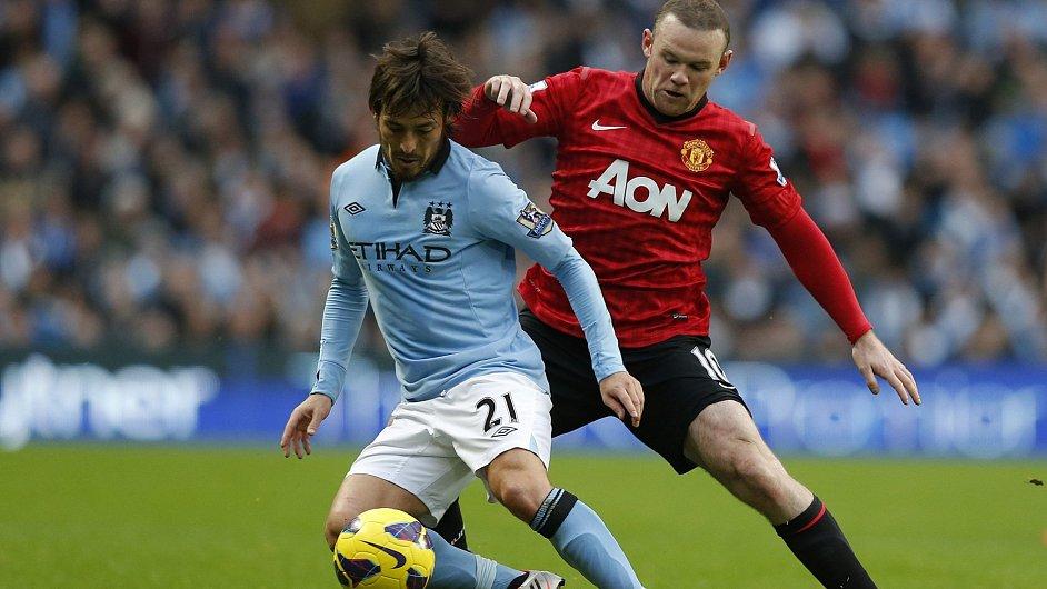Davod Silva v městském derby proti United
