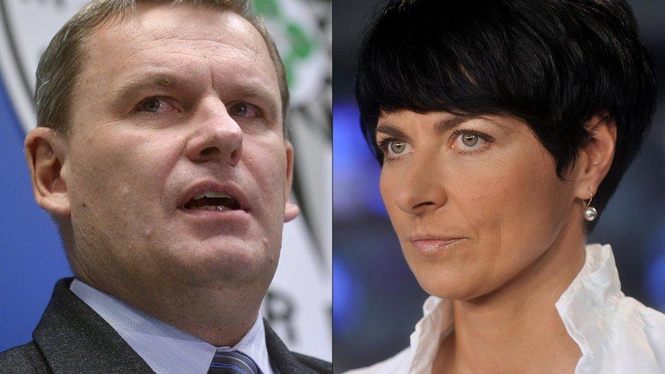 Tomáš Martinec, Lenka Bradáčová