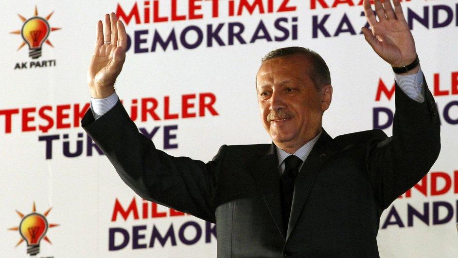 Turecký premiér Recep Erdogan