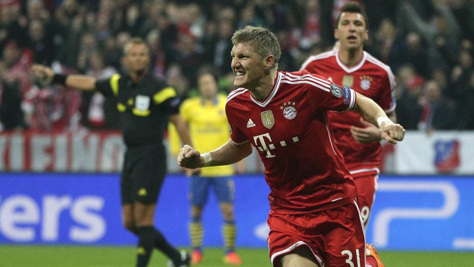 Fotbalisté Bayernu vyřadili Arsenal.