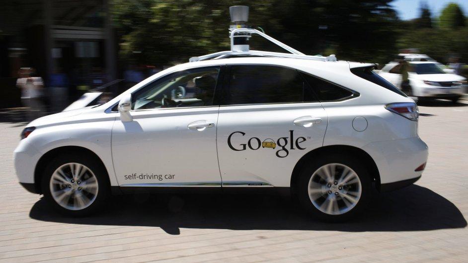 Samořídicí auto od Google