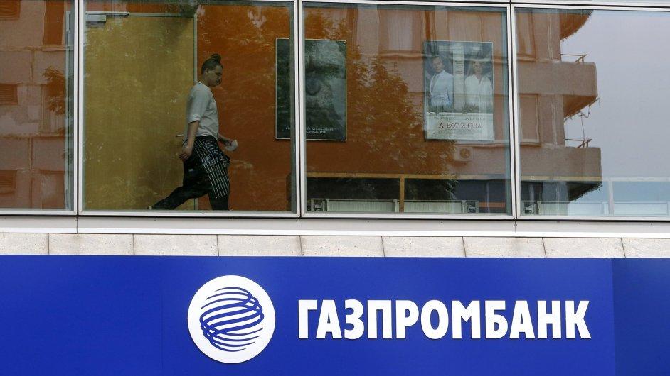 Americké sankce se dotkly i ruské banky Gazprombank