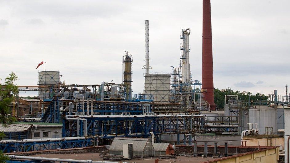 Továrna Paramo Pardubice