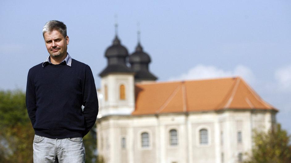 Rekonstrukce církevních památek na Broumovsku. Na snímku kostel svaté Markéty v Šonově – Jakub Děd