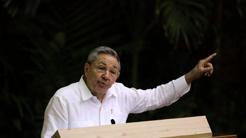 Kubánský prezident Raúl Castro