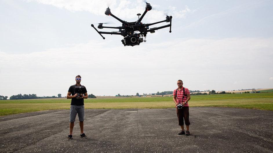 Drone v Olomouci