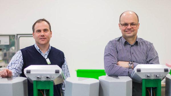 Jiří Malysák (vpravo) a Petr Borek (vlevo)