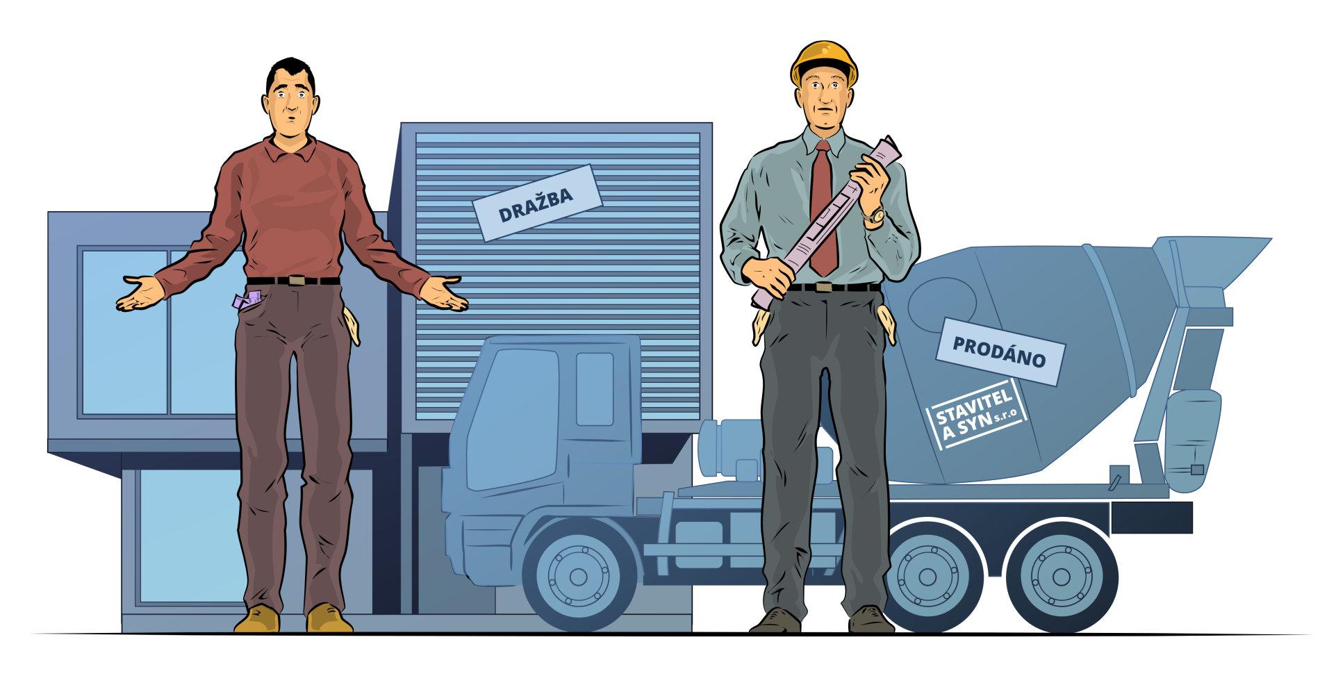 Běžní Češi se dostávají do insolvencí kvůli půjčkám a úvěrům. Z firem nejčastěji mířily do insolvencí ty stavební.