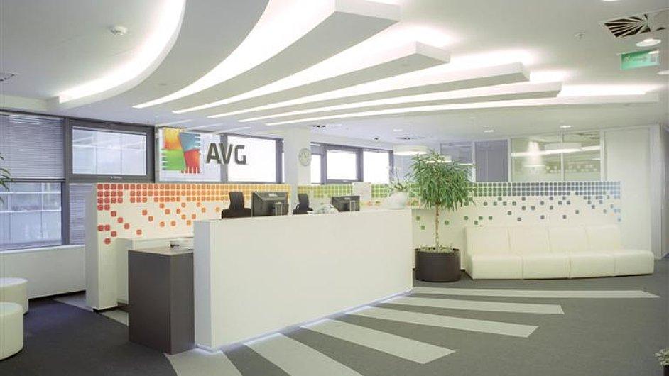 Administrativní budova spol. AVG Technologies CZ