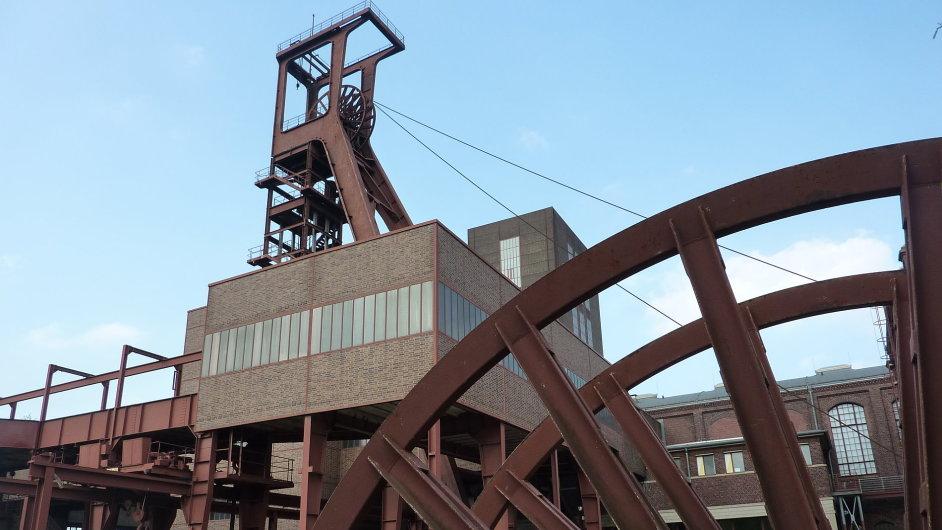 Důlní areál Zollverein je zapsán na Seznam světového dědictví UNESCO.
