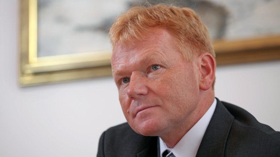 Daniel Szórád, generální ředitel Lesů ČR.
