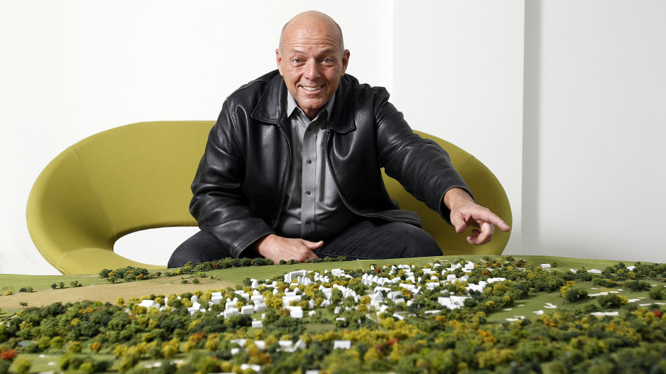 Kyle Phillips, architekt golfového hřiště Oaks Prague.