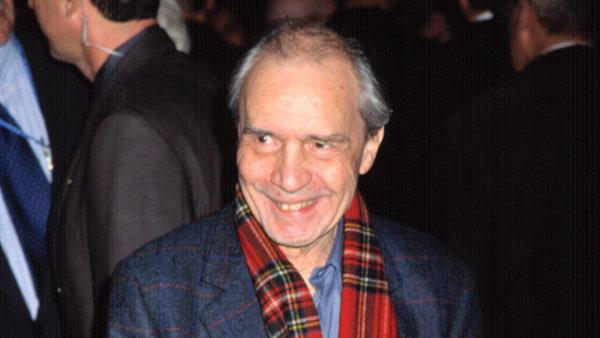 Režisér Jacques Rivette na snímku ze zahájení Newyorského filmového festivalu v září 2001.