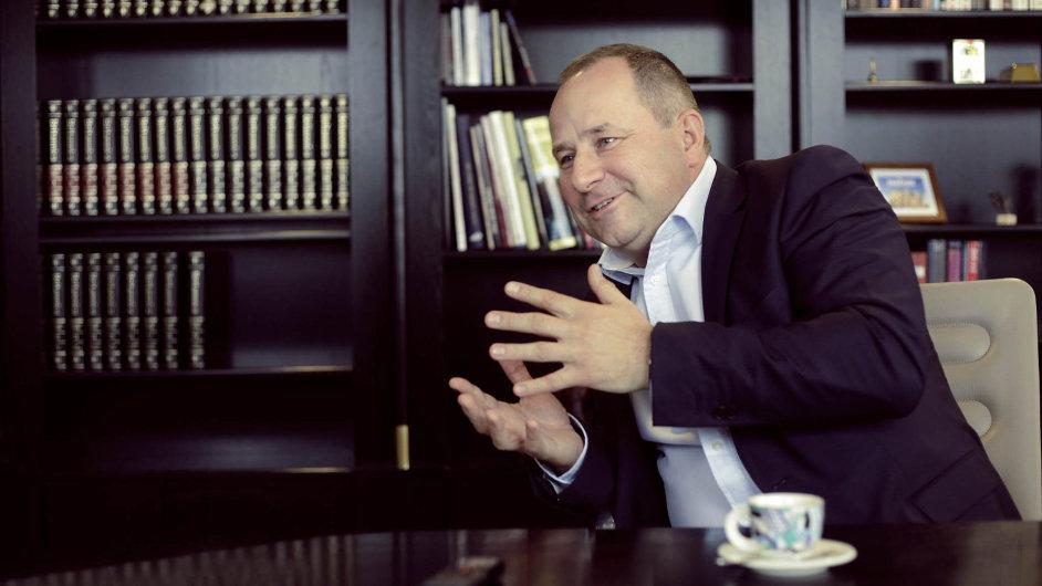 Šéf České spořitelny Tomáš Salomon.