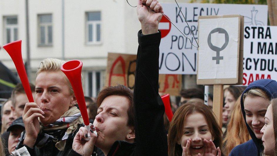 Potraty, Polsko, protest, stávka.