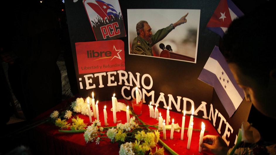 Kuba, Fidel Castro, smrt
