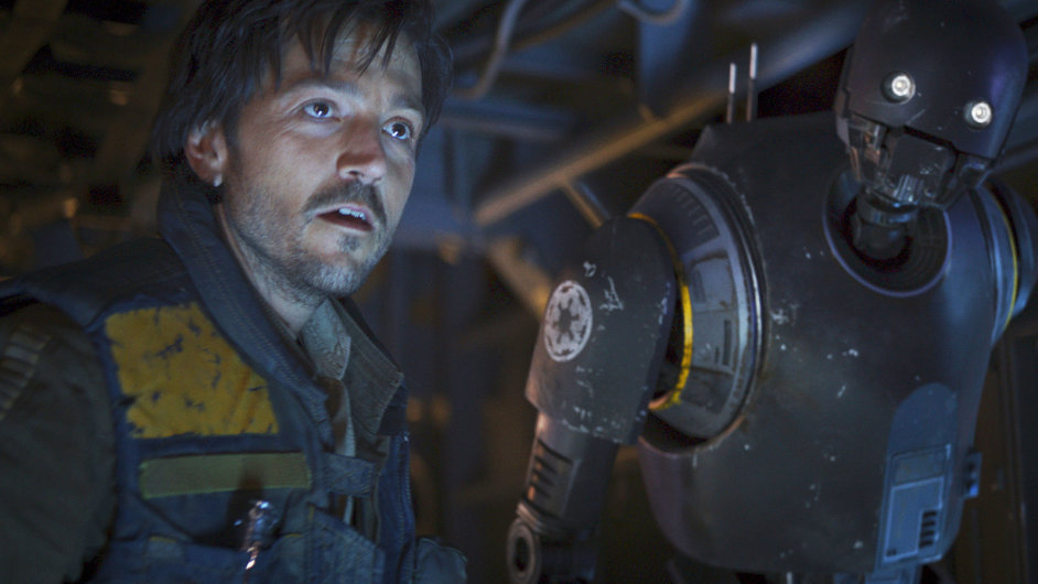 Diego Luna ve filmu Rogue One ztvárnil Cassiana Andora.