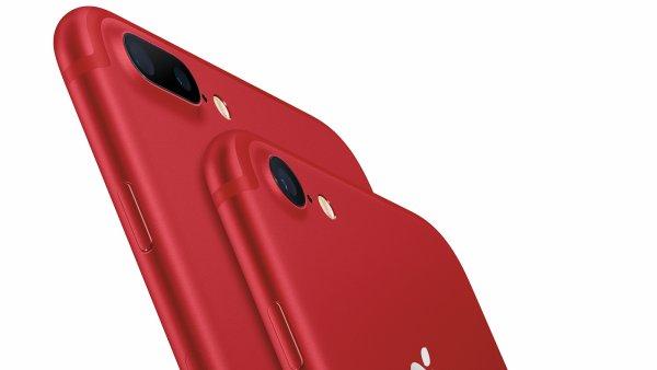 iPhone 7 a 7 Plus v charitativní verzi Product Red