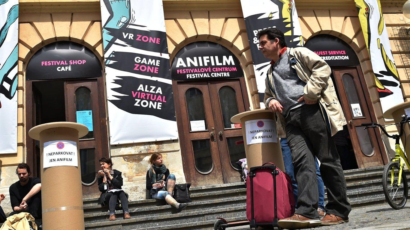 Snímek z letošního festivalu Anifilm.