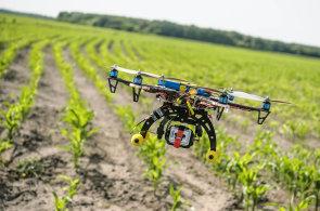 Roboti na polích: vyplejí, sklidí úrodu a mohou zachránit srnky. Zemědělci nasazují drony a plánují automatické traktory