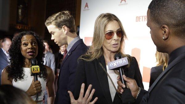 Na snímku z detroitské premiéry filmu Detroit je režisérka Kathryn Bigelowová. Její novinka zatím nemá českého distributora.