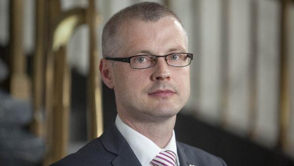 Vladimír Tomšík, viceguvernér ČNB.
