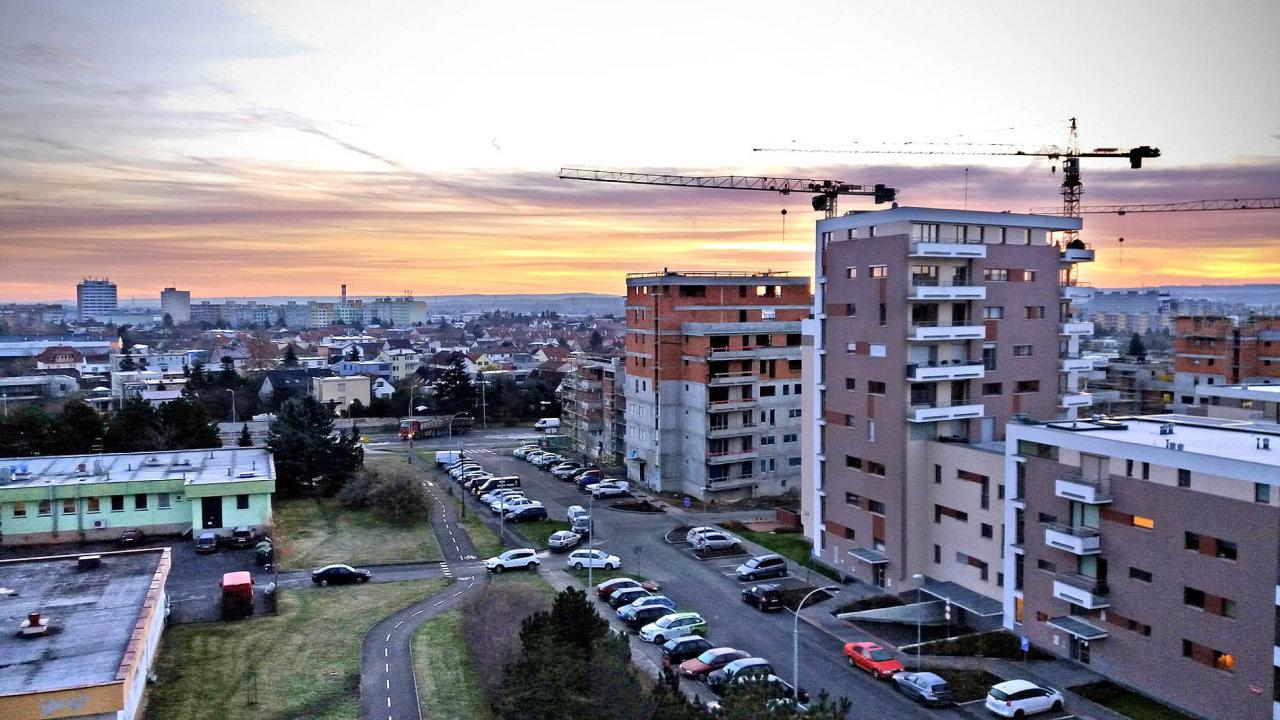Investiční fondy jsou populární hlavně mezi developery, kteří tam vkládají své nemovitosti. Patří mezi ně iCentral Group (nasnímku její projekt Nad Modřanskou roklí).
